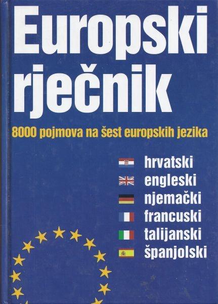 Europski rječnik