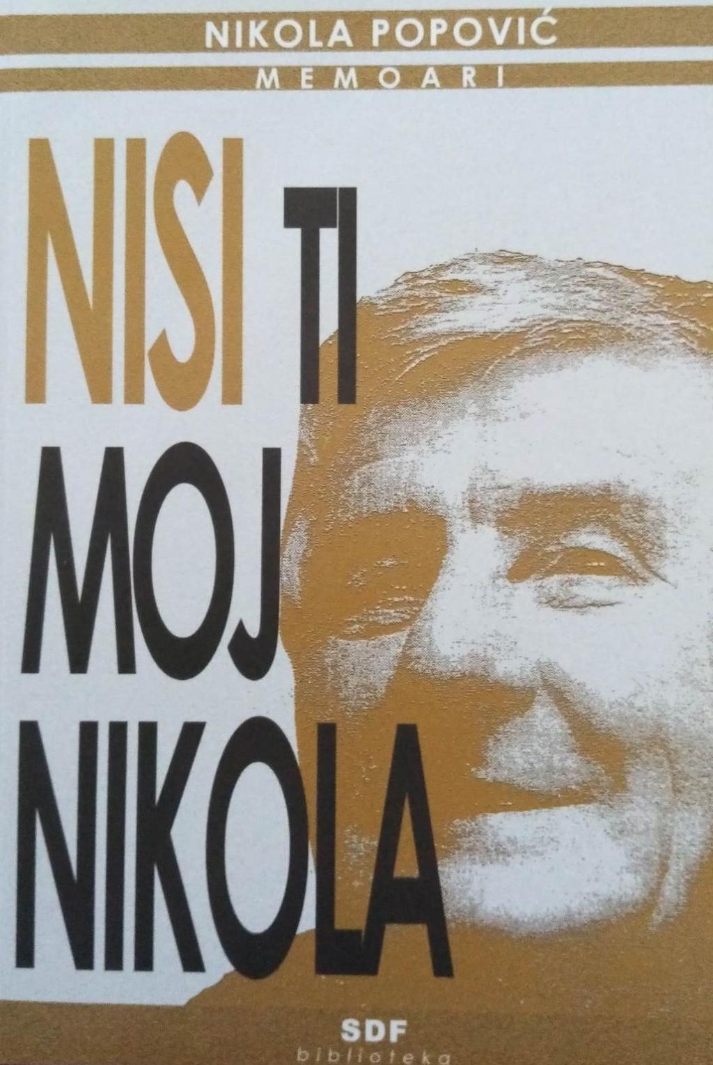 Nisi ti moj Nikola