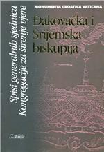 Đakovačka i Srijemska biskupija : spisi generalnih sjednica Kongregacije za širenje vjere : 17. stoljeće
