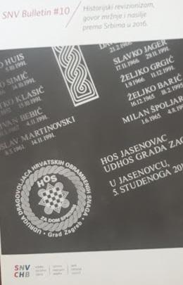 Govor mržnje i nasilje prema Srbima u 2016.