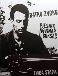 Ratko Zvrko pjesnik, novinar i boksač