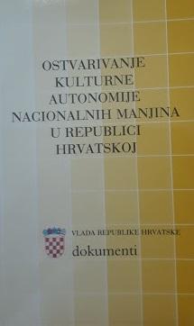 Ostvarivanje kulturne autonomije nacionalnih manjina u Republici Hrvatskoj