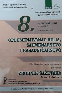Oplemenjivanje bilja, sjemenarstvo i rasadničarstvo