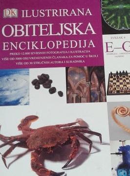 Ilustrirana obiteljska enciklopedija - Sv. 4 : E - G : Energija - Gnijezda i jazbine