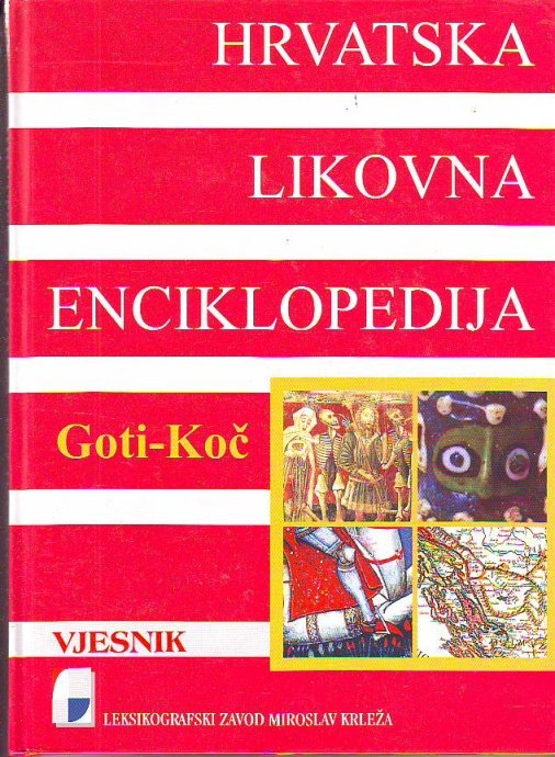 Hrvatska likovna enciklopedija 3 (Goti-Koč)
