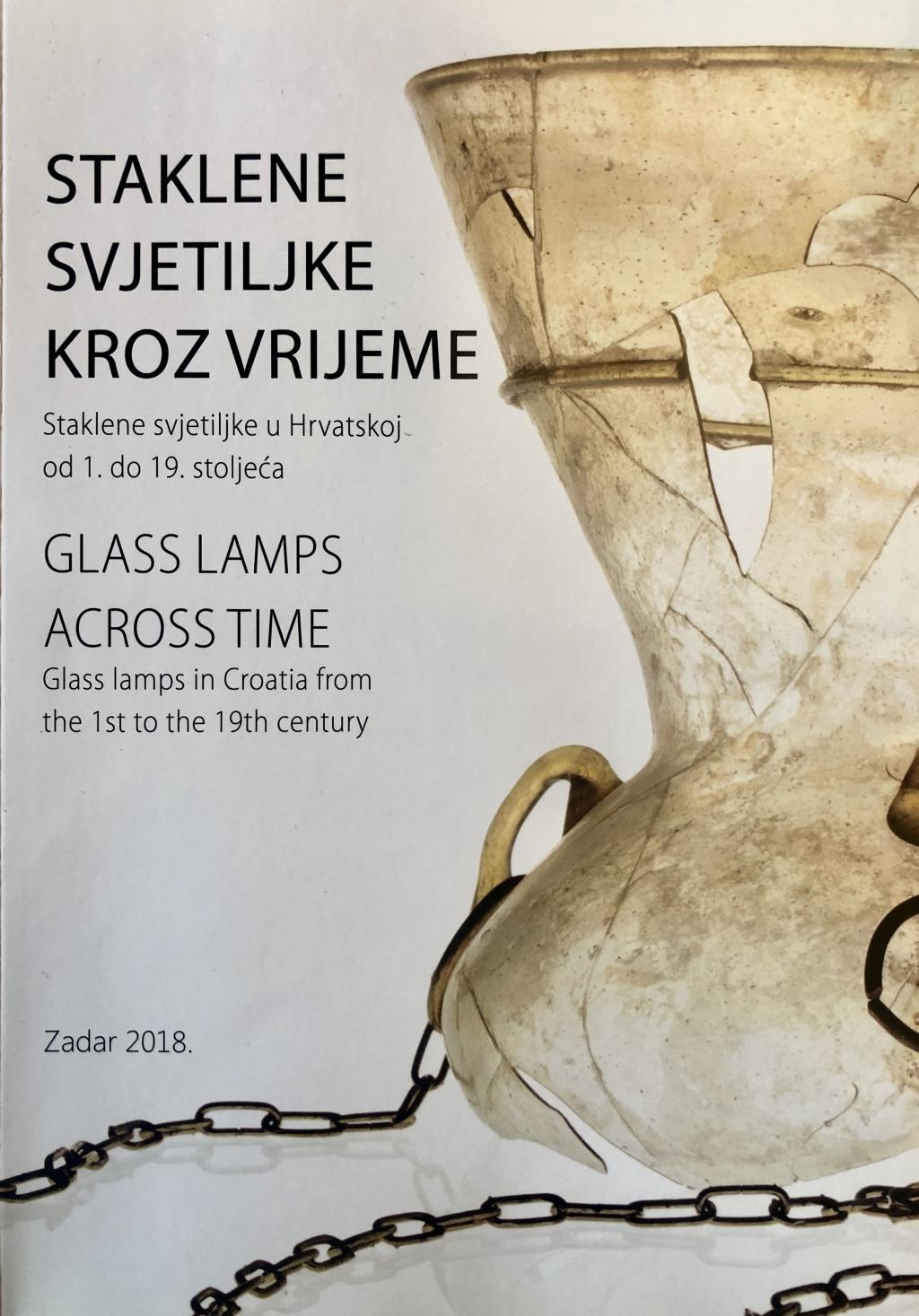 Staklene svjetiljke kroz vrijeme : staklene svjetiljke u Hrvatskoj od 1. do 19. stoljeća