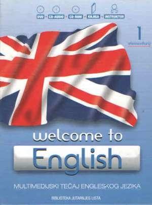 Welcome to english - multimedijski tečaj engleskog jezika (1. elementary) knjiga + tri CD-a