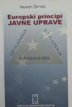 Europski principi javne uprave : od vladanja do služenja građanima