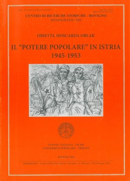 Il Potere popolare in Istria : 1945-1953