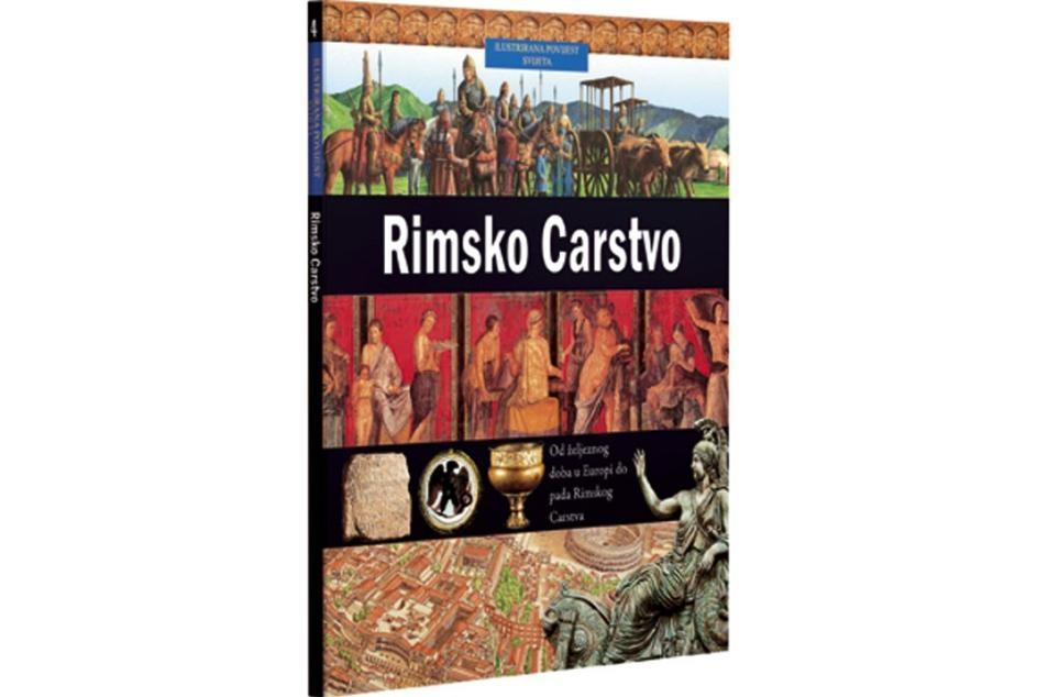 Ilustrirana povijest svijeta 4 : Rimsko Carstvo
