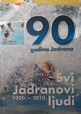 Svi Jadranovi ljudi : 1920.-2010. : 90 godina Jadrana