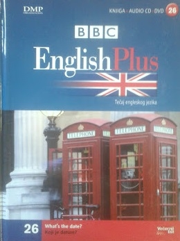 English Plus: tečaj engleskog jezika - Koji je datum? + DVD + CD (knjiga 26/30)