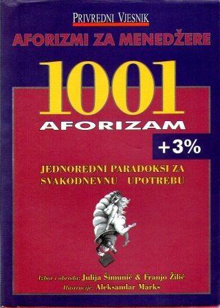 Aforizmi za menadžere - 1001 aforizam + 3 posto