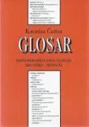 Glosar hrvatsko - njemački ekonomskopravnoga nazivlja