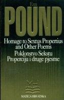 Poklonstvo Sekstu Properciju i druge pjesme = Homage to Sextus Propertius and other poems