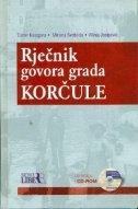 Rječnik govora grada Korčule + CD