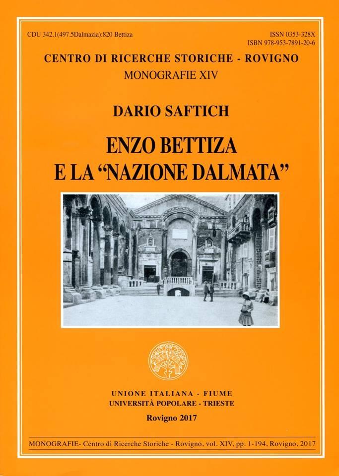 Enzo Bettiza e la Nazione Dalmata