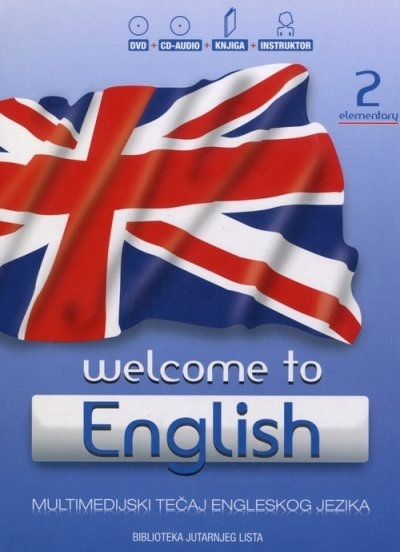 Welcome to English 2 -  Elementary + DVD + CD