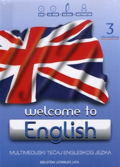 Welcome to English 3 - Elementary + DVD + CD