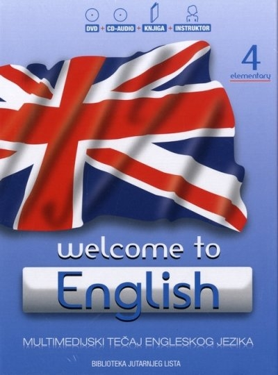 Welcome to English 4 - Elementary + DVD + CD