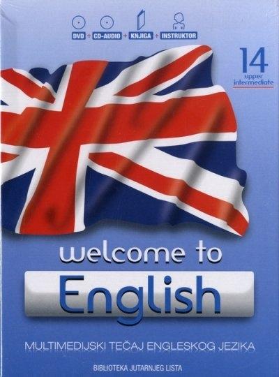 Welcome to English 14 - Upper intermediate + DVD + CD