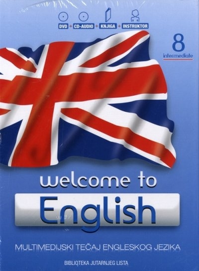 Welcome to English 8 Intermediate + CD + DVD