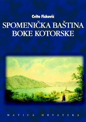 Spomenička baština Boke Kotorske