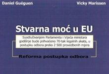 Stvarna moć u EU : reforma postupka odbora