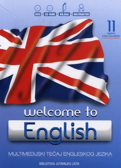 WELCOME TO ENGLISH 11 - UPPER INTERMEDIATE + CD + DVD
