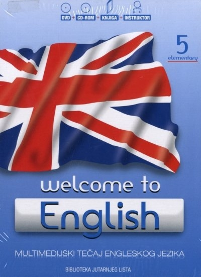 Welcome to English 5  - Elementary + DVD + Audio CD