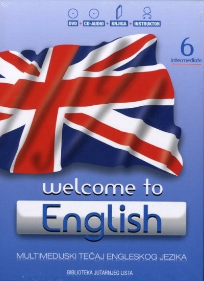 Welcome to English 6 - Intermediate + DVD + Audio CD